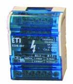 EDB distribuční bloky na DIN lištu
