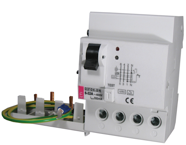 Moduly proudového chrániče DIFO
